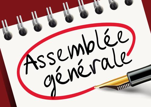 Convocation à l'assemblée générale 2018