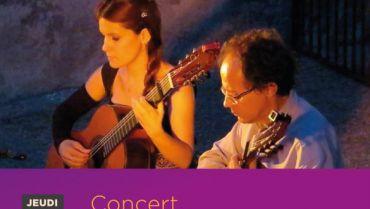 Concert Duo Guarania – Jeudi 9 Août