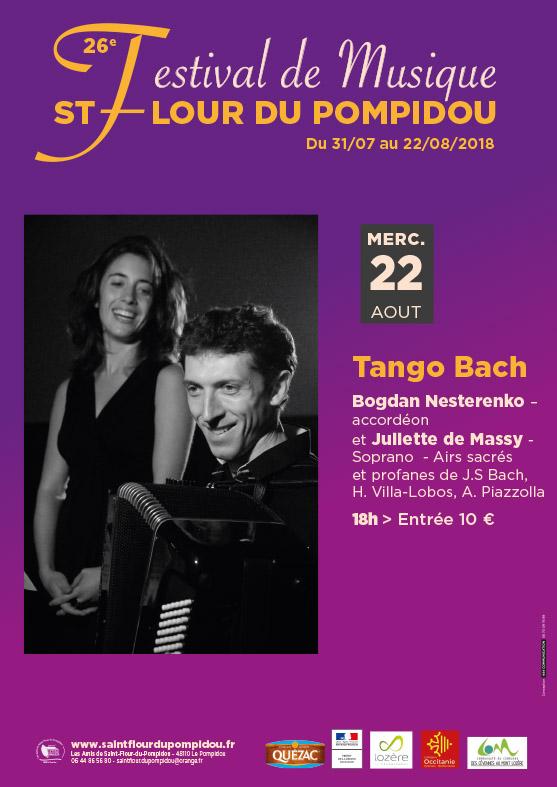 Tango Bach – Mercredi 22 Août